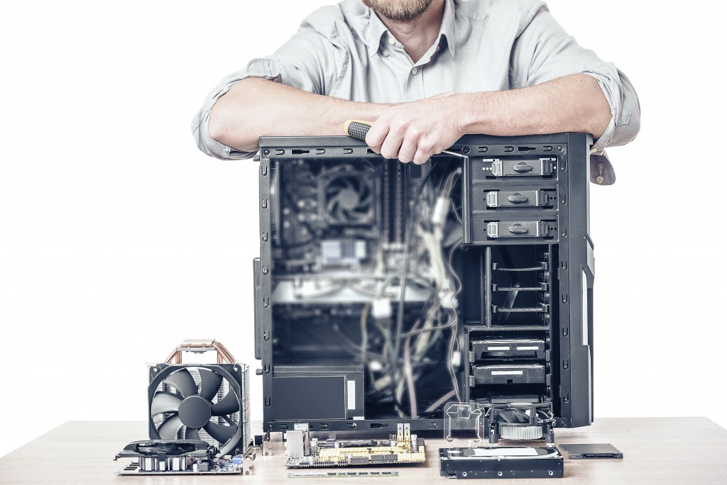 Guy with an open CPU