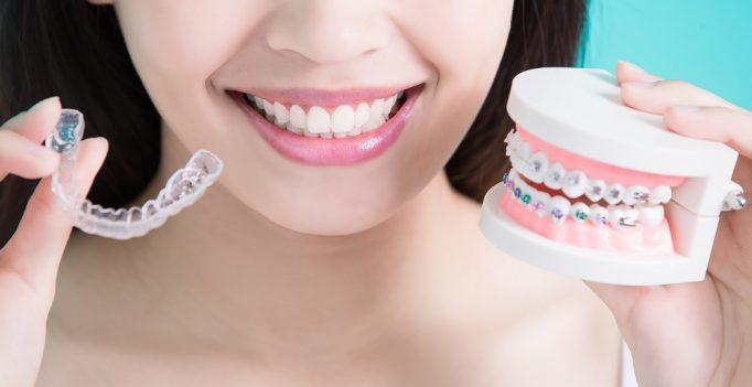 a woman with nice teeth