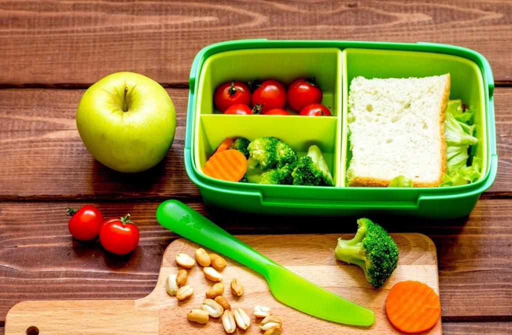 Lunch box preparation