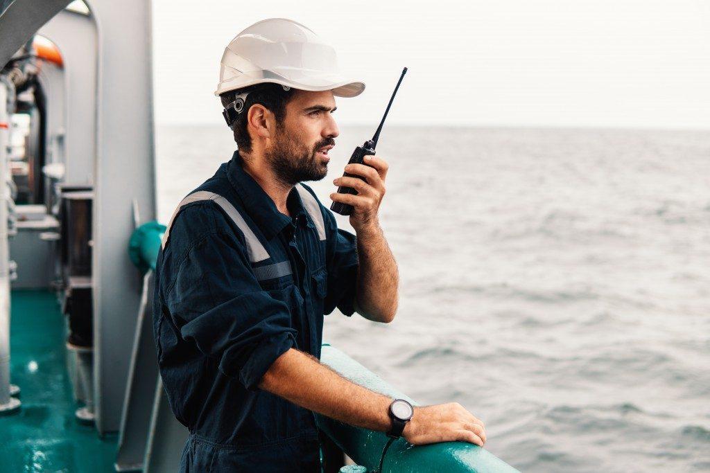 Charterer in a vessel