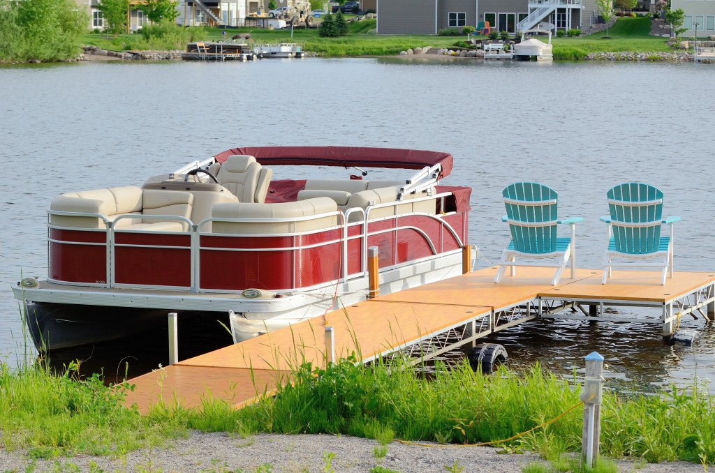 having your own pontoon boat
