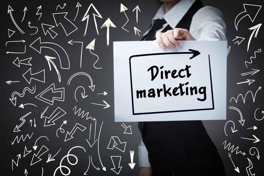 direct marketing campaign concept