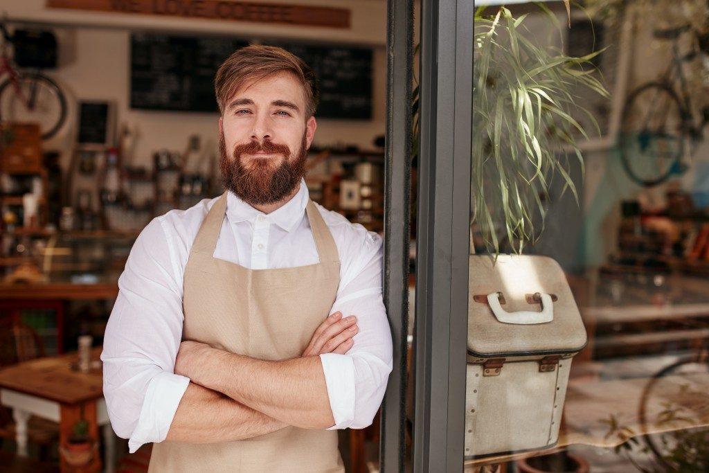 trendy restaurant owner