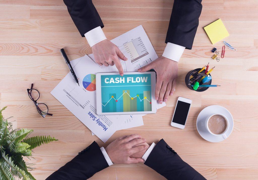 cash flow management concept