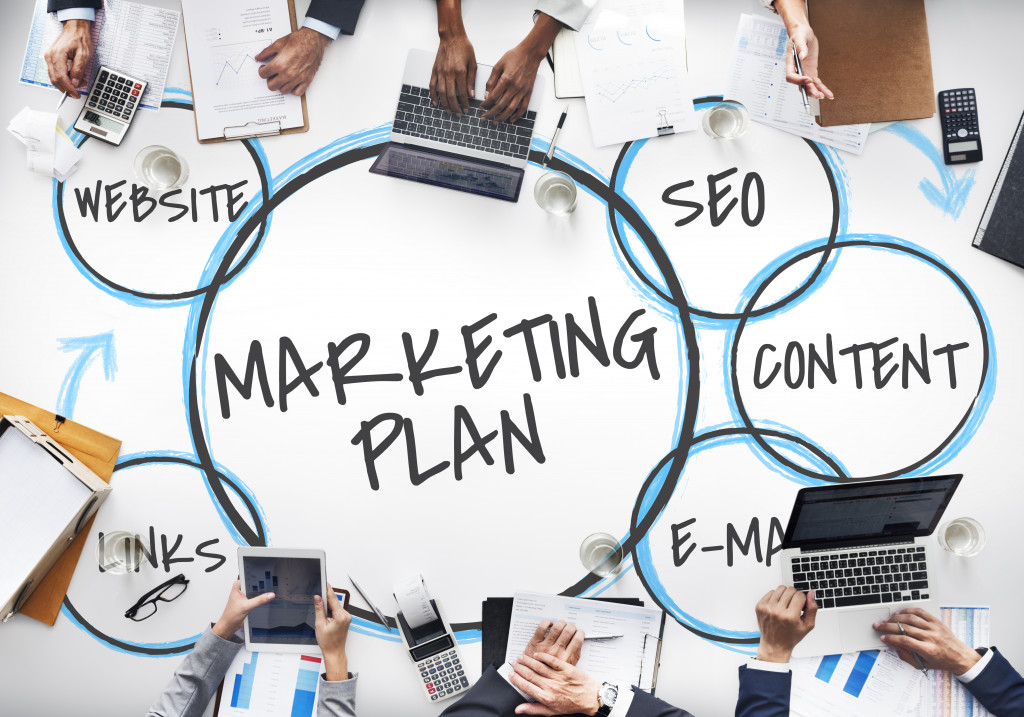 marketing plan text