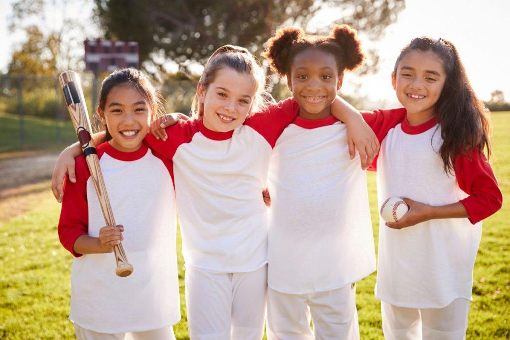 baseball team girls