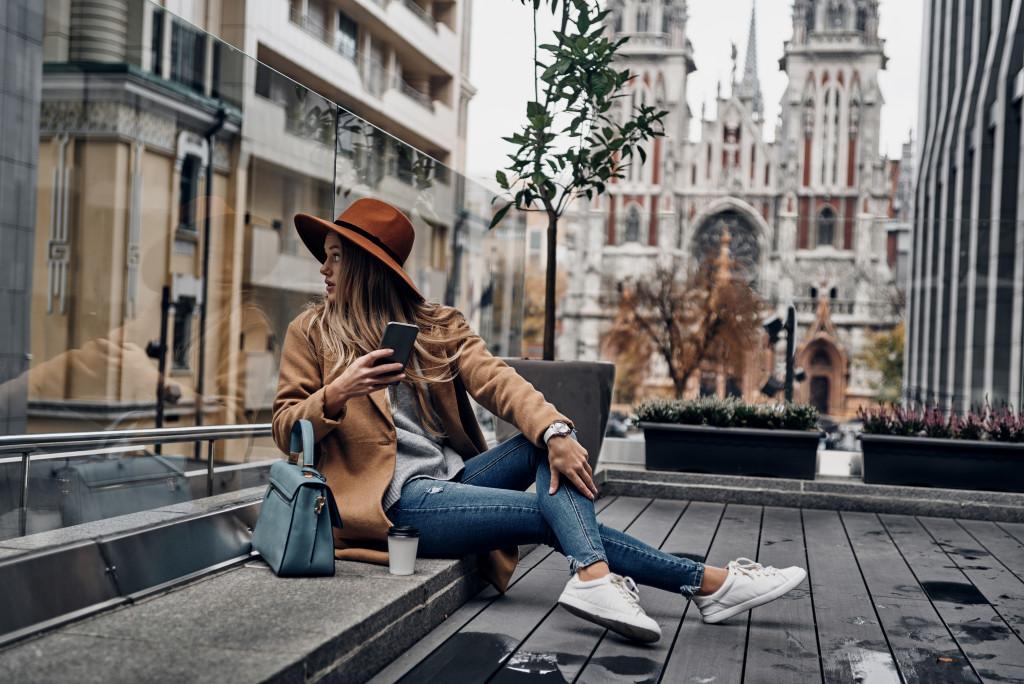 fashionista woman