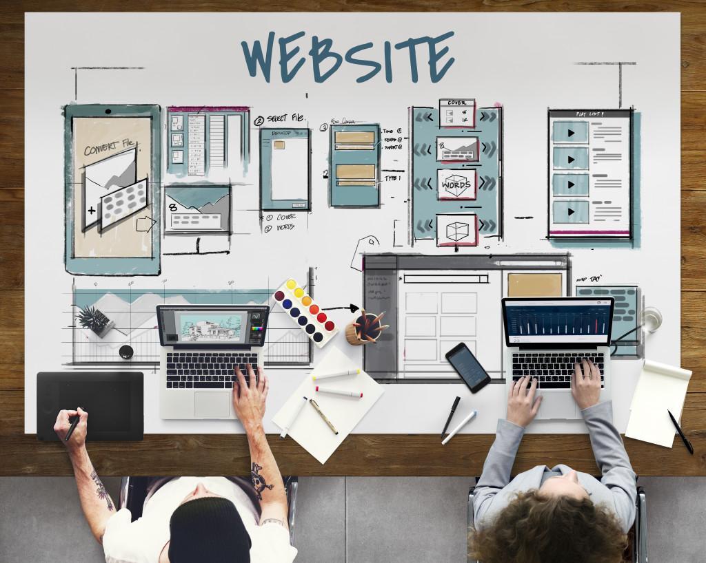 website building for business